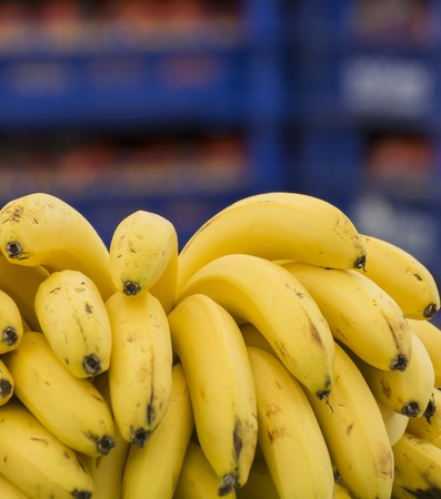 commercialism: Close up of bananas