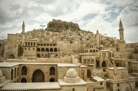 Mardin, kleine Stadt in der Nähe in der Türkei