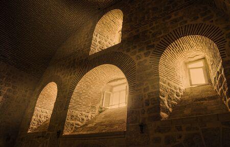 ancient prison: Old Monastery in Turkey,mardin