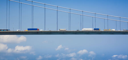 bosphorus: Transportation on the Bosphorus Bridge
