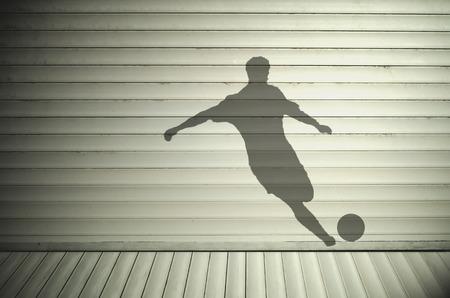 footballer: Footballer shadow