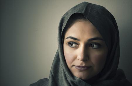 Arab Woman Portrait photo