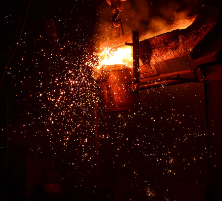 Steel Factory, Melting Iron