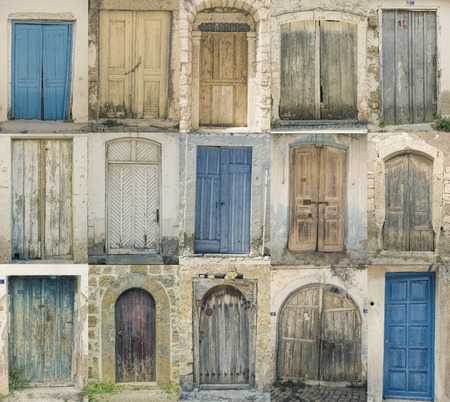 Old Historical doors