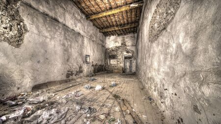 urban decay: abandoned empty room