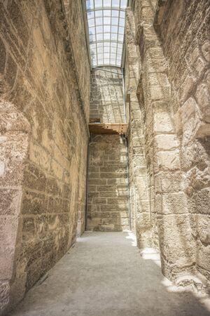 teatro antico: Ancient theatre of Aspendos in south Turkey