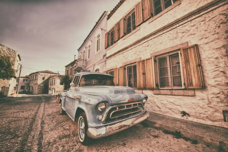 yesteryear: Old Classic Car