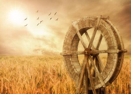 watermill: Watermill and Wheat farm