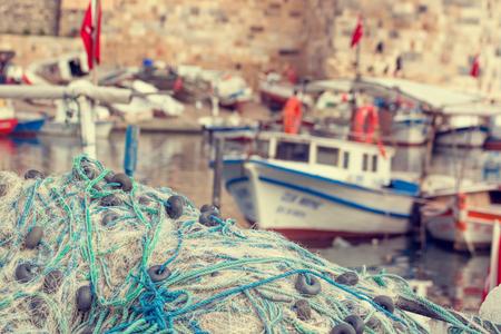 coger: Las redes de pesca Primer. Antecedentes de las redes de pesca y flotadores.