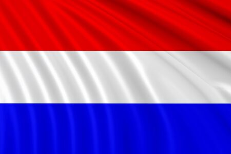 klompen: Flag of Netherlands , Holland Stock Photo