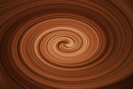 twirling: twirling chocolate Stock Photo