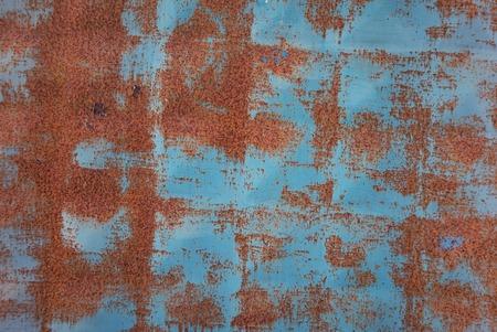 vintage blauwe roestige achtergrond