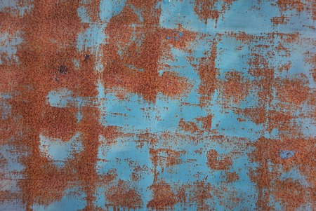 vintage blue rusty background