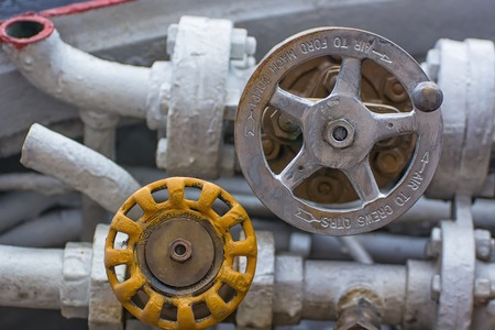 Industrial iron valves and pippes