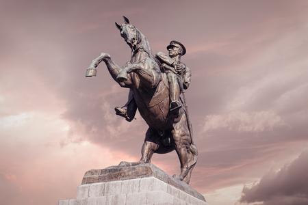 Statue of Ataturk in Samsun, Turkey