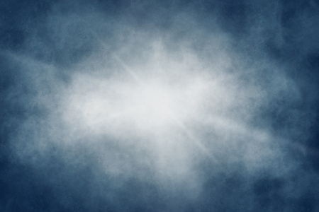 Abstract misty blue dark. Abstract light in the blue background