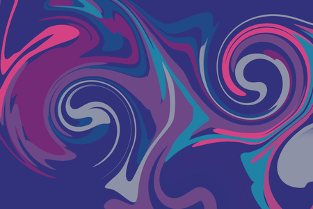Modern colorful flow poster background. Wave paint liquid shape. Abstract design