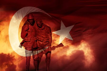 anniversary and celebration of founding Turkish republic and victory.
