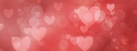 redcolored romantic heart shaped background for valentines day.
