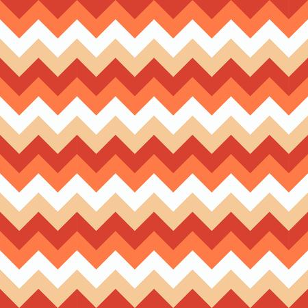 Chevron pattern seamless vector arrows geometric design colorful white pink coral orange