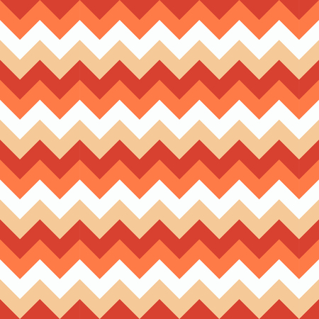 Chevron pattern seamless vector arrows geometric design colorful white pink coral orange