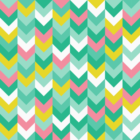 Zigzag pattern seamless vector illustration.