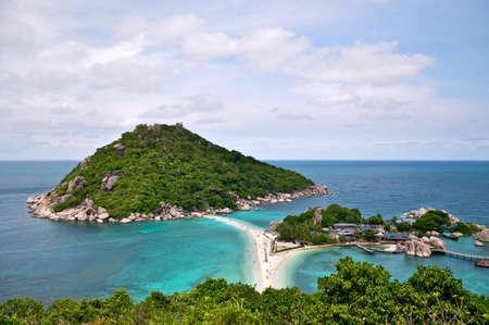 koh: Nang Yuan Isla Foto de archivo