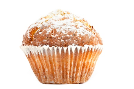 sweet and savoury: Homemade sweet Muffin Stock Photo