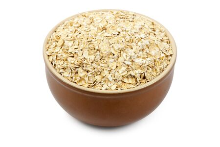 wild oats: bowl full of oats