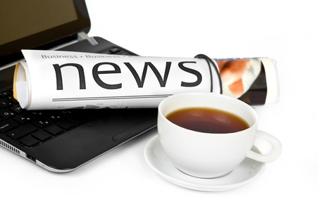 Morning news  photo