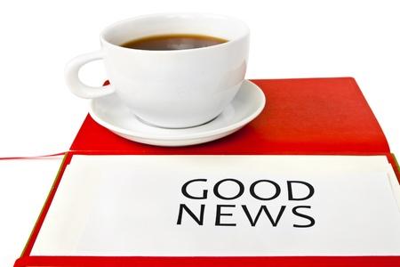 GOOD NEWS Standard-Bild - 15537110