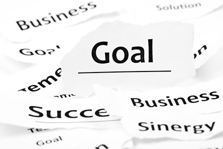 business goal concept  Stock Photo - 15611265