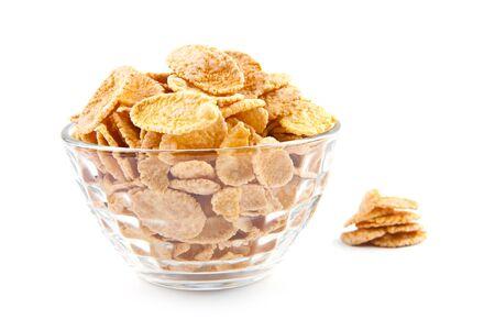 sugar bowl: Bowl of dried cornflakes