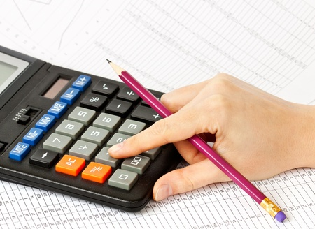 calculator money: Accounting