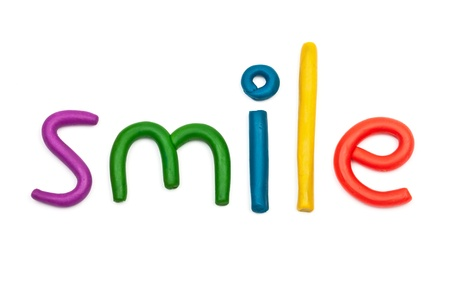 Smile plasticine figures  photo