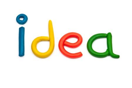 Idee - Konzept betriebswirtschaftlichen Hintergrund Standard-Bild - 16279265