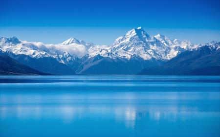 Lake Tekapo, Île du Sud, Nouvelle-Zélande