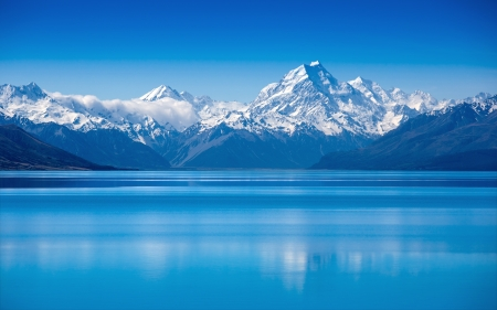 Lake Tekapo, Wyspa Południowa, Nowa Zelandia
