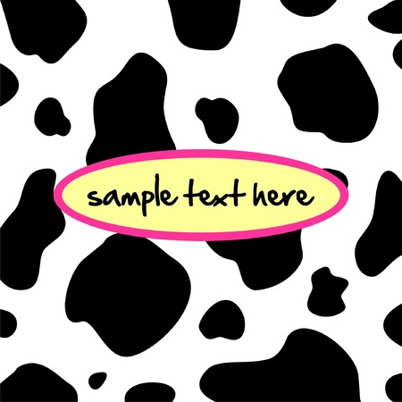 Cow background Stock Vector - 17031658
