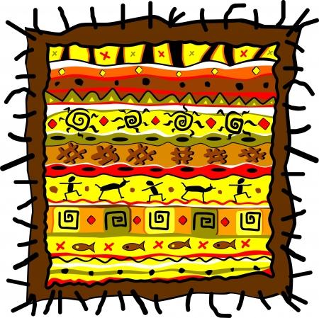 Vector tribal art