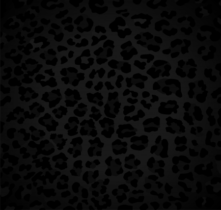 Abstract dark background with leopard pattern Vector
