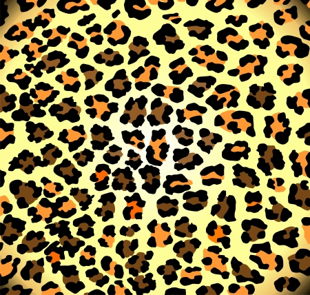Seamless leopard pattern Stock Vector - 18374107