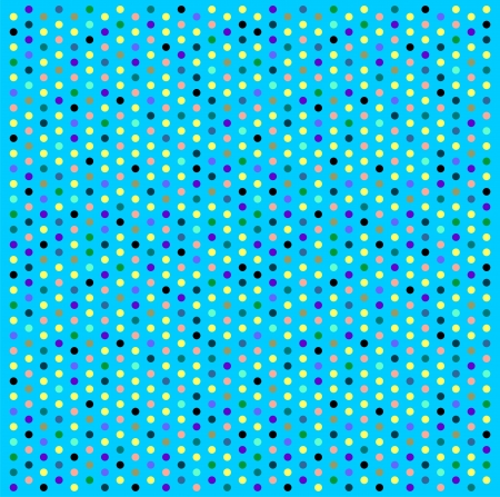 Abstract background with bright dots