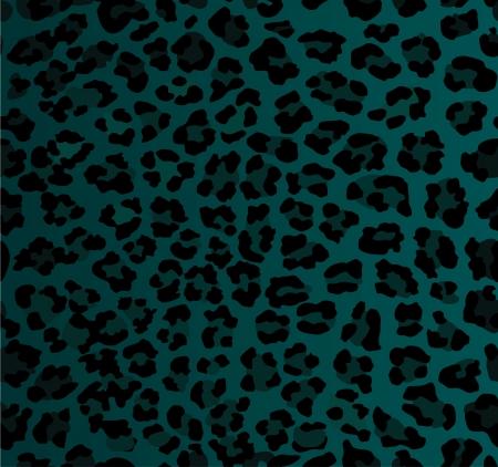 Seamless leopard print