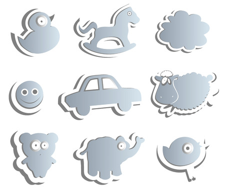 amusing: The collection of amusing shapes for kids