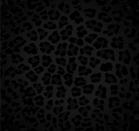 Seamless dark background with leopard pattern