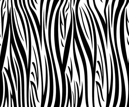 zebra print: Abstract vector background with seamless zebra pattern
