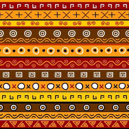 arte africano: De fondo sin fisuras con el patrón abstracto
