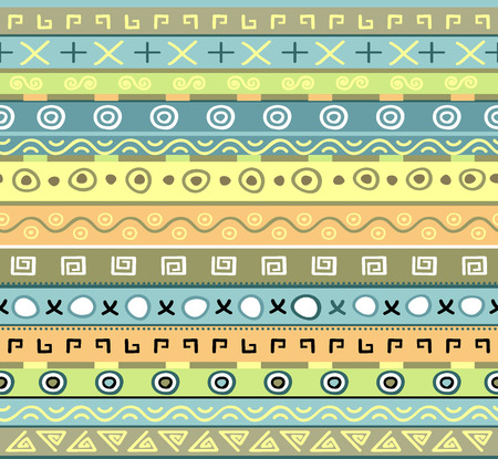 Seamless background with abstract pattern Ilustração