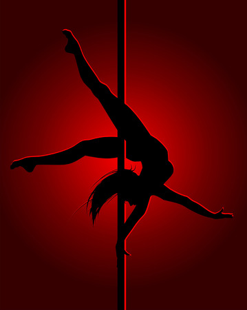 flexible: Flexible dancing girl